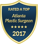 Rated a Top - Atlanta Plastic Surgeon 2017 - logo